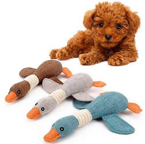 мягкая игрушка - вот что подарить собаке на Новый год